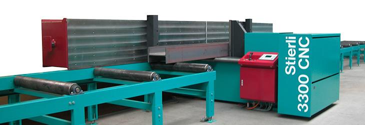 Horizontal Press for Straightening and Bending   Stierli-Bieger
