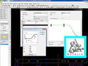 Screenshot aus Biege Programmiersoftware Metalix
