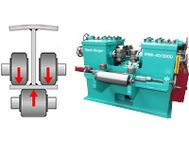 FRM flange straightening machine